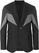 Neil Barrett symmetric tailored jacket