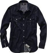 Ralph Lauren Indigo Buffalo Western Shirt