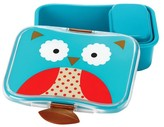 Skip Hop Zoo Little Kids & Toddler Lunch Kit With Storage Container - Owl