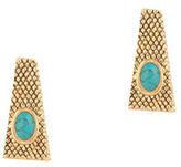 House Of Harlow 1960 Tanta Crosshatch Stud Earrings