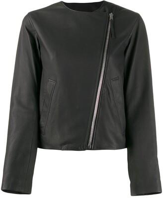 Joseph Fitted Biker Jacket