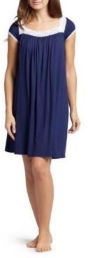 Savi Mom Lacy Nursing Nightgown