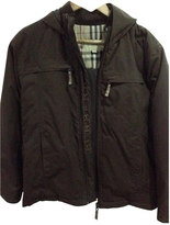 Burberry Brown Polyester Jacket coat