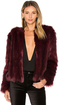 Cupcakes And Cashmere Snyder Faux Fur Jacket