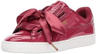 Puma Women's Basket Heart Patent Wn Sneaker