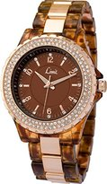 Limit Women's Quartz Watch with Brown Dial Analogue Display and Brown Alloy Bracelet 6038.02