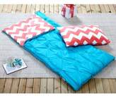 Victoria's Classics Riley 2-Piece Sleeping Bag in Turquoise
