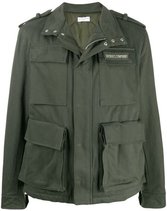 Ih Nom Uh Nit Military Cargo Jacket