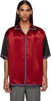 Gucci Red GG Star Bowling Shirt