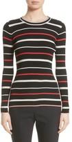St. John Women's Multicolor Stripe Knit Top