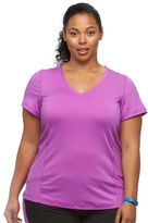 Tek Gear Plus Size Drop Needle Workout Tee