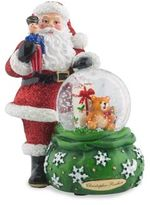 Christopher Radko Lots To Deliver Snow Globe Figurine