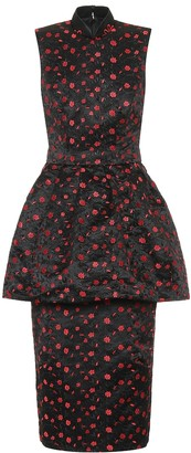 Simone Rocha Jacquard midi dress