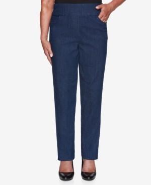 Alfred Dunner Petite Denim Friendly Proportioned Short Pants