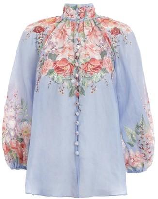 Zimmermann Floral blouse