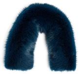 Valextra Iside mink-fur bag strap cover