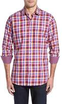 Tailorbyrd Men's Big & Tall Baker Check Sport Shirt