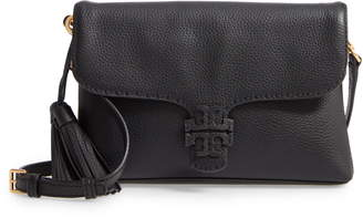 Tory Burch McGraw Foldover Leather Crossbody