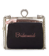 Betsey Johnson Clutch In A Box Minaudiere