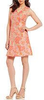 Antonio Melani Emerson Novelty Jacquard Dress