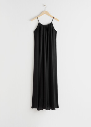 And other stories Rope Strap A-Line Maxi Dress