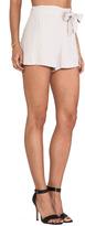 BB Dakota Nayan Heavy Crepe Shorts