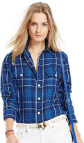 Polo Ralph Lauren Relaxed-Fit Plaid Twill Shirt