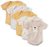 Rene Rofe Newborn/Infant Boys) 5-Pack Assorted Bodysuits