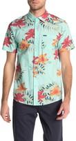 Volcom Wave Fayer Hawaiian Short Sleeve Regular Fit Shirt