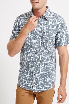 Sportscraft Blair Short Sleeve Print Shirt