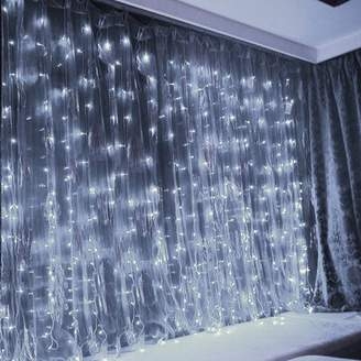 The Party Aisle LEDs 19.7 ft. 600-Light Curtain String Light The Party Aisle