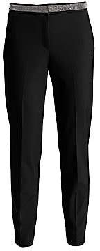 Fabiana Filippi Women's Slim-Fit Techno Pants