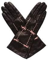 Portolano Leather Bow Gloves w/ Tags