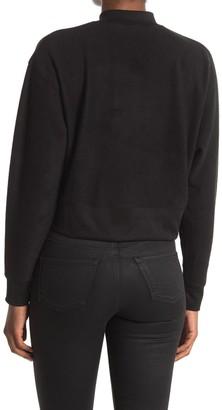 Abound Mock Neck Fleece Pullover