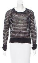 A.L.C. Striped Wool Sweater