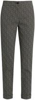 Etro Squiggle-jacquard slim-leg trousers