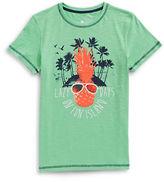 Manguun Pineapple Graphic Cotton T-Shirt