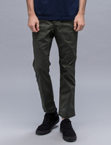 White Mountaineering Stretch Triple Needle Puckering Pants