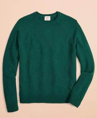 Brooks Brothers Lambswool Raglan Crewneck Sweater