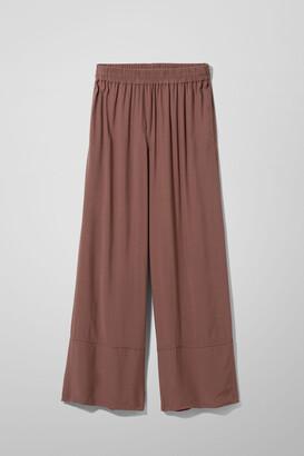 Weekday Solanda Trousers - Black