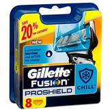 Gillette Fusion ProShield Chill Men's Razor Blade Refill Cartridges 8 pack