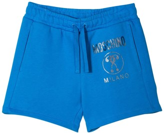 Moschino Kids Sport Shorts With Print