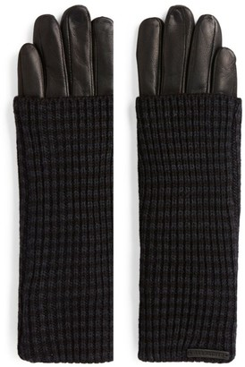 AllSaints Leather Gloves