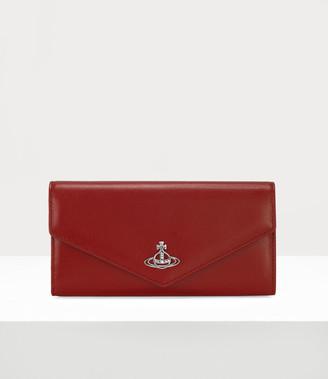 Vivienne Westwood Rosie Envelope Long Wallet Red