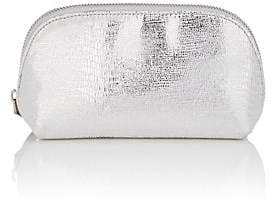 Barneys New York WOMEN'S METALLIC COSMETIC CASE - SILVER