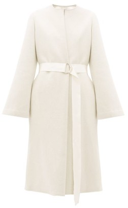 Carl Kapp - Proteus Double Faced Wool Blend Coat - Womens - Cream