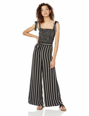 Ali & Jay Women's Conservatory Sleeveless Wide Leg Striped Jumpsuit