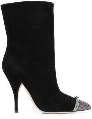 Marco De Vincenzo embellished toe ankle boots