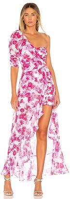 For Love & Lemons Aruba Layered Mini Dress