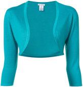 Oscar de la Renta knit bolero - women - Silk/Cashmere - S